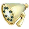 """Polished Brass 3-5/8"""" Adjustable Shower Head K139A2"""