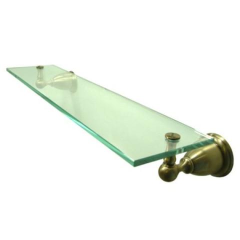 Vintage Brass Glass Shelf BA1759AB