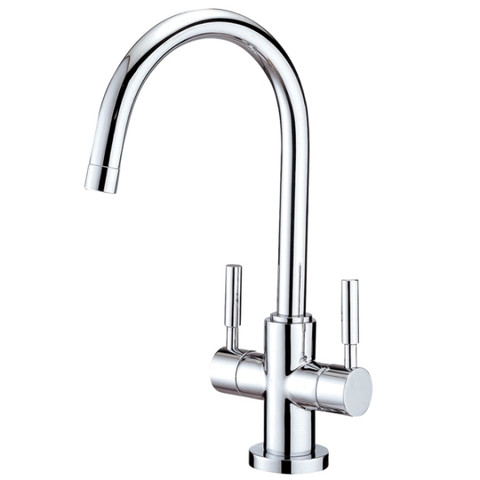 Polished Chrome Kingston Brass Concord Two Handle Vessel Sink Faucet KS8291DL