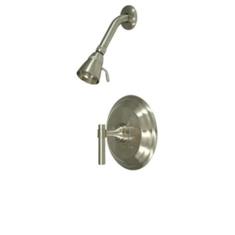 Satin Nickel Single Handle Shower Faucet KB2638MLSO