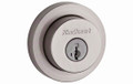 Kwikset KW158RDT15 Deadbolt Single Cylinder Satin Nickel Door Lock