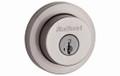 Kwikset KW158RDT15 Deadbolt Single Cylinder Satin Nickel Door Lock