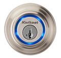 Kwikset 952 DB 15 Satin Nickel Kevo Single Cylinder Bluetooth Deadbolt Door Lock