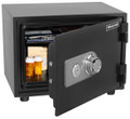 0.61 cu ft / Water Resistant Steel 1 Hour Fire & Security Safe HWDS2103