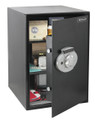 New Digital Dial Technology & Key Lock Steel Security Safe (2.7 cu') HWDS5207