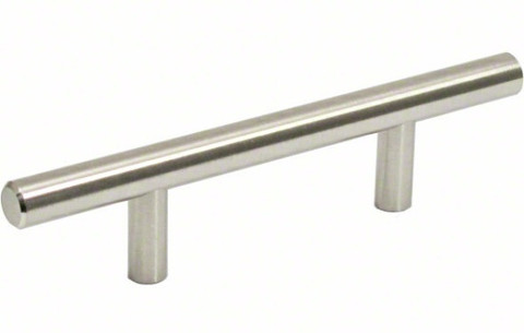 Jamison Collection P105SS Stainless Steel Simplistic Stainless Steel Bar Pull 3 inch Center 5-1/2 inch Long