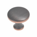 Belwith Hickory 1-1/8 In. Metropolis Oil-Rubbed Bronze Cabinet Knob P14255-OBH Hardware
