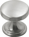 Belwith Hickory 1 In. American Diner Satin Nickel Cabinet Knob P2140-SN Hardware