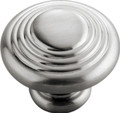 Belwith Hickory 1-1/4 In. Fanfare Satin Nickel Cabinet Knob  P3103-SN Hardware