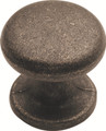 Belwith Hickory 1 In. Gainsborough Windover Antique Cabinet Knob PA1215-WOA Hardware