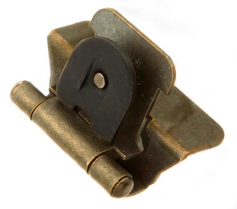 Amazing Belwith Hickory Antique Brass Double Demountable Hinge P5311 AB Hardware