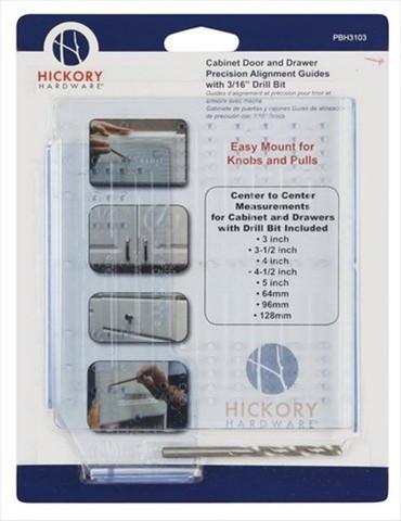 Belwith Hickory Cabinet Hardware and Drawer Mounting Kit PBH3103 Hardware