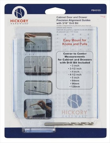 Belwith Hickory Cabinet Hardware And Drawer Mounting Kit PBH3103 Hardware