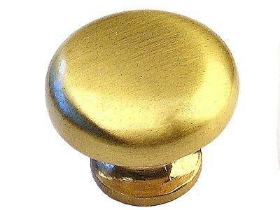 ROUND Gold Brushed Nickel Cabinet Knobs Pull 6063BG