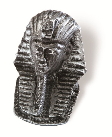 Siro Designs 100-122 Antique Silver  74Mm Knob Pharoh