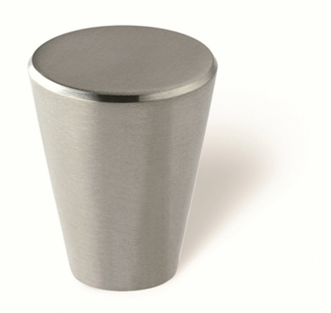 Siro Designs 44-278 Fine Brushed Stainless Steel 24Mm Knob