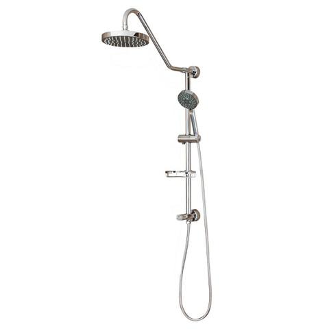 PULSE ShowerSpas Kauai II ShowerSpa Chrome Shower System