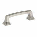 "Amerock BP53030PN 3"" Cabinet Pull Polished Nickel Finish Mulholland Collection"