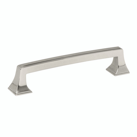 Amerock BP53529PN 128MM Cabinet Pull Polished Nickel Finish Mulholland Collection