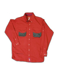 Crossover  Shirt - Sonoma Red