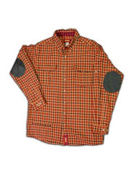 Paddock - Rust Brown Beige Plaid