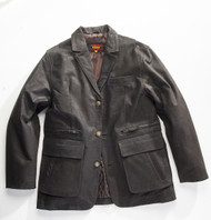 Exventurer Waxed Buffalo Sports Jacket - Black Olive