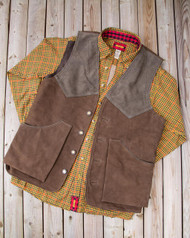 Artemis Vest - Rusted Buffalo Brown