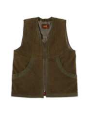 Crossover Nubuck Vest - Brown