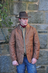 Exventurer Storm Glen Waxed Cotton Sports Jacket - Caramel