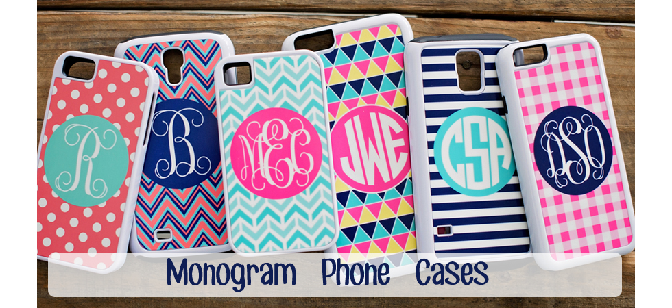 Monogram Phone Case