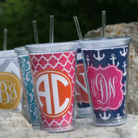 Personalized Reusable Cup & Straw