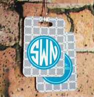 Personalized Luggage Tags (Set of 2)