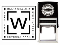 Self-Inking Personalized Address Stamp - CS3608