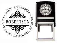 Self-Inking Personalized Address Stamp - CS3609