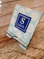 Personalized Large Tablet Stand - Perfect for iPads or even Cookbooks