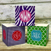 Monogram Note Cubes