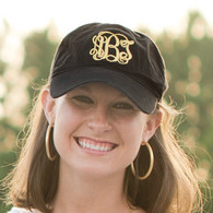 Monogrammed Bap Cap - Perfect for Tailgating