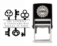 Self-Inking Personalized Address Stamp - CSA10004S