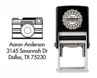 Self-Inking Personalized Address Stamp - CSA10005