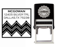 Self-Inking Personalized Address Stamp - CSA10014S