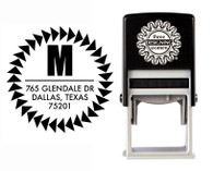 Self-Inking Personalized Address Stamp - CSA10006S