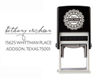 Self-Inking Personalized Address Stamp - CSA10009S