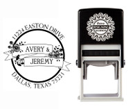 Self-Inking Personalized Address Stamp - CSA10013S