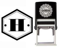 Monogram Stamp Style CSM10004S