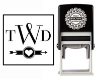 Custom Monogram Stamp CSM10011S