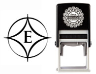 Custom Monogram Stamp CSM10015S