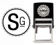 Monogram Stamp Style CSM10018S