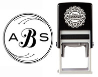 Custom Monogram Stamp CSM10022S