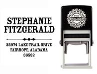 Self-Inking Personalized Address Stamp - CS3652