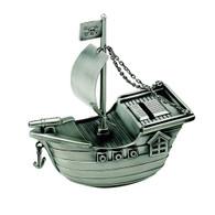 Pirate Ship Money Bank Piggy Bank Gift